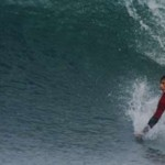Surfing in Portrush